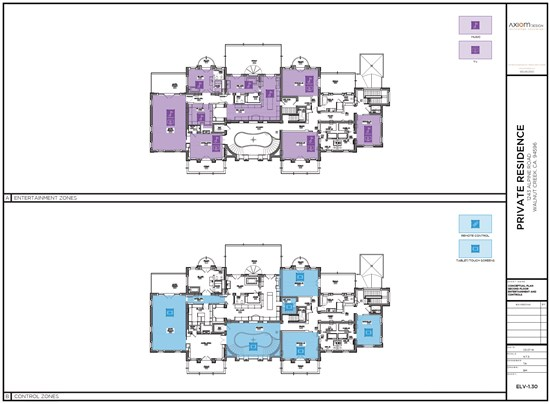 Device placement drawings - part of technology design and engineering documentation