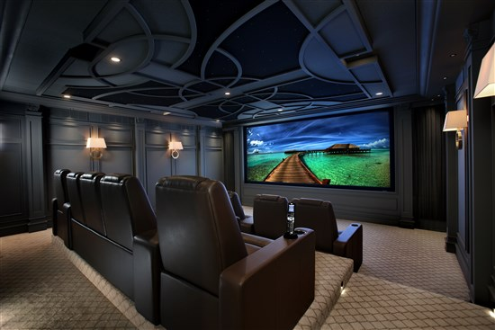 luxury home theater design and planning advice - Home Theater Design