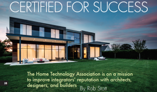 Home Technology Association featured in Fall 2018 issue of Connected Design magazine
