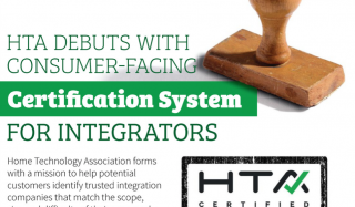 Home Technology Association debuts consumer-facing certification system for integrators in this CEPro article
