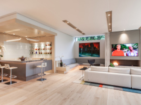 Home automation installation by Legato Home Music for Los Angeles