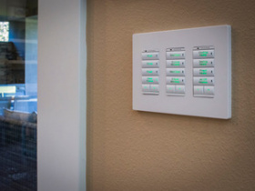 Home automation installation by Garrett Integrated Systems for Portland