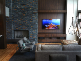 Smart home installation by AudioWorks for Kamas