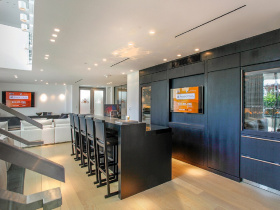 Smart home installation by Acoustic Architects for Coral Gables
