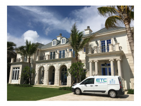 Smart home installation by ETC Palm Beach for Palm Beach