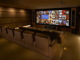 Smart home installation by Haas Entertainment for Bel Air