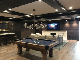 Smart home installation by Modern Media Innovations for Cincinnati