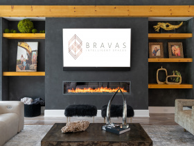 Smart home installation by Bravas for Dallas