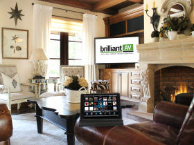 Smart home installation by Brilliant AV for Laguna Beach