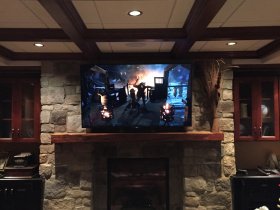 Smart home installation by MediaObsessions for Gates Mills