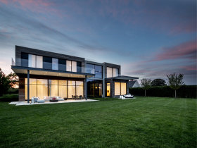 Smart home installation by OneButton for Hamptons