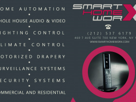Smart home installation by Smart Home Worx for New York