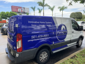 Smart home installation by Paragon Systems Integration for Palm Beach
