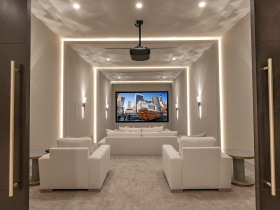 Smart home installation by Silver Star Sound and Electric for Orange