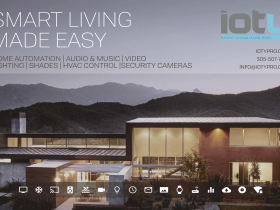 Smart home installation by ioty for Miami-Dade