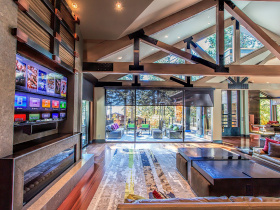 Smart home installation by Sierra Integrated Systems for Truckee