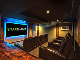 Smart home installation by SmartHome Solutions for Portland