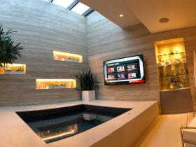 Audio video system integrator NuHome Tech services Los Angeles