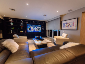 Home automation installation by Acoustic Architects for Pinecrest