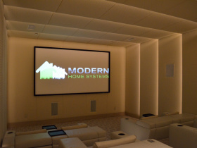 Home automation installation by Modern Home Systems for Encinitas