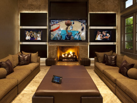 Audio video system integrators HomeTronics services Collin