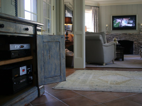 Home automation installation by @Home Audio Video Technology for Knoxville