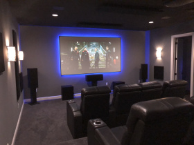 Audio video system integrators Tampa Bay Electronic Systems services Hillsborough