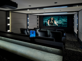 Audio video system integrator Innerspace Electronics services Westchester