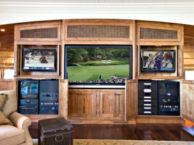 Home automation installation by Audio Warehouse for Charleston