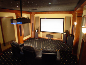 AV installer Custom Theater and Audio services Georgetown