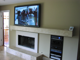 Home automation installation by Ambiance for Seneca