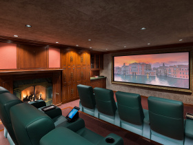Home automation installation by Beyond Home Theater for Beverly Hills