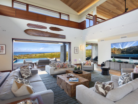 Home automation installation by Pacific Audio Communications for Wailea