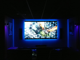 Home automation installation by Kustom Home Entertainment for Brentwood