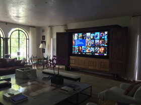 AV installer Simply Home Entertainment services Los Angeles