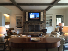 Smart home installation by @Home Audio Video Technology for Knoxville