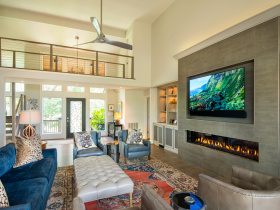 Smart home installation by Custom Home Sound for Charleston