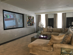 Smart home installation by Electronic Lifestyles for Hamptons