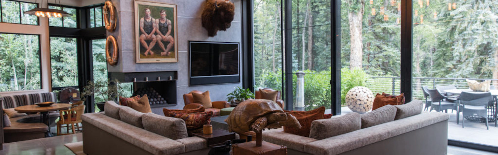 Smart home installation by Paragon Systems Integration for Snowmass