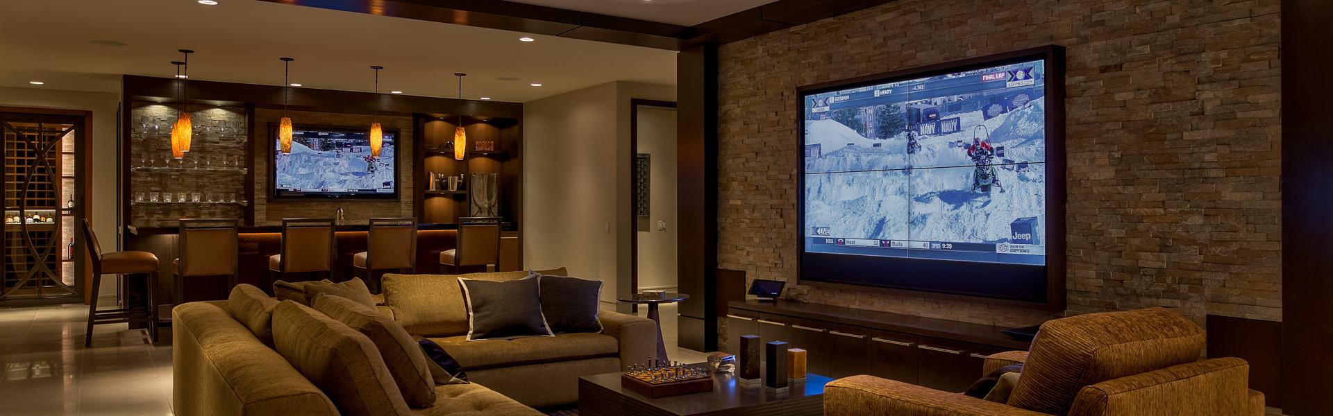Smart home installation by Echo Systems for Okoboji