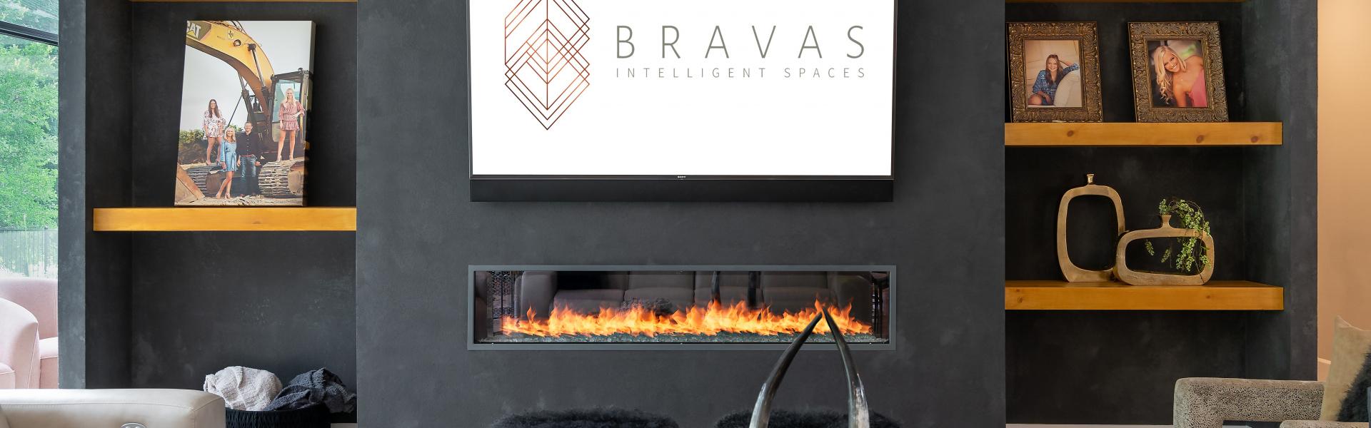 Smart home installation by Bravas for Dallas