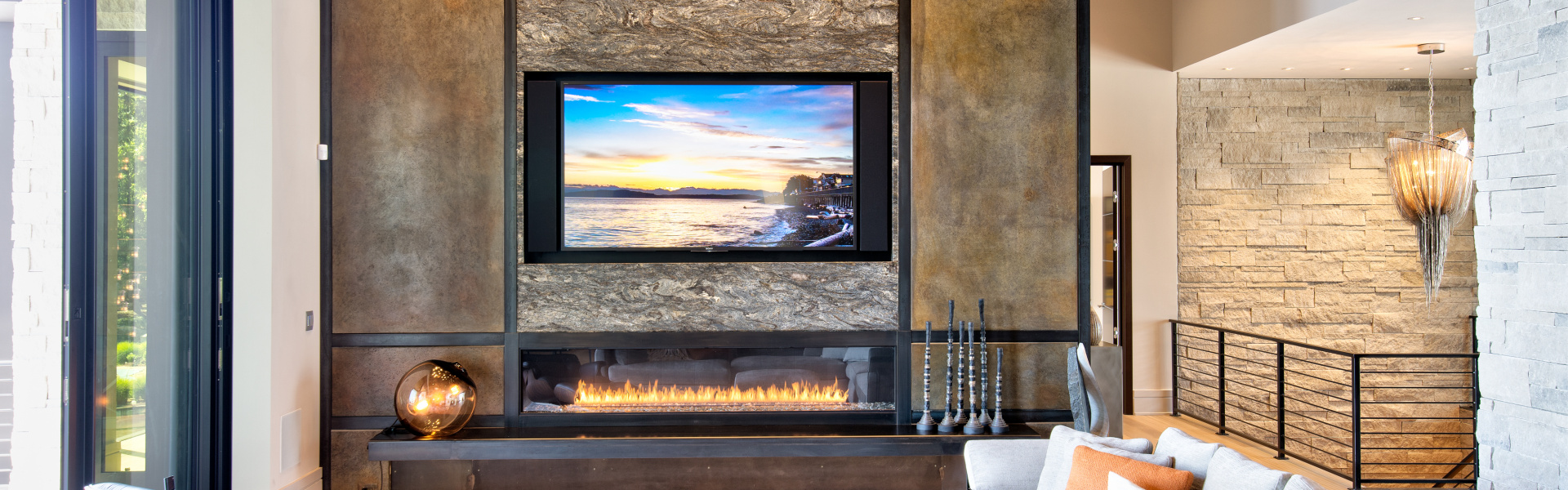 Smart home installation by Premier Group for Carmel