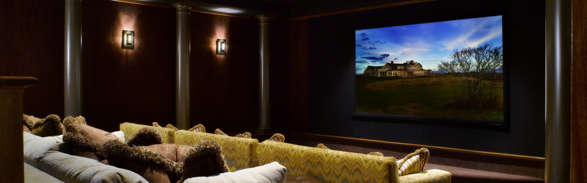 Smart home installation by Adobe Cinema and Automation for Martha's Vineyard