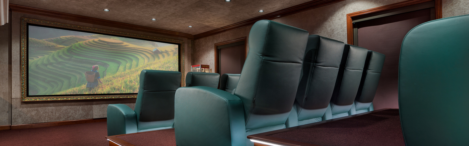 Smart home installation by Beyond Home Theater for Malibu