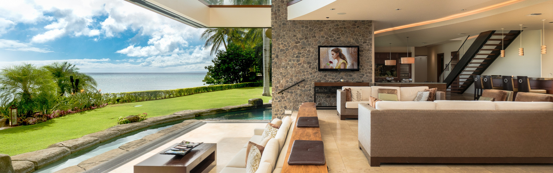 Smart home installation by eDesign Group for Maui