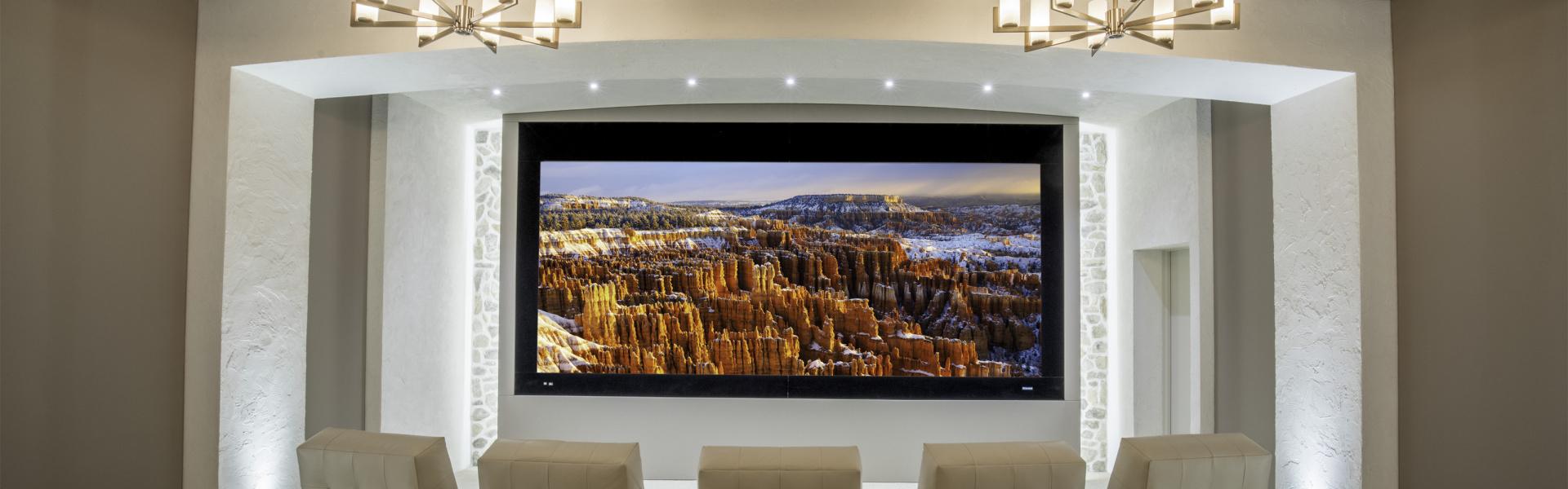 Smart home installation by Design Electronics for Niagara Falls