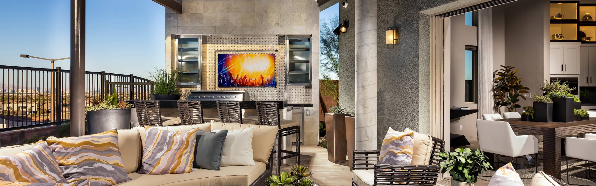 Smart home installation by Acoustic Design Systems for Las Vegas