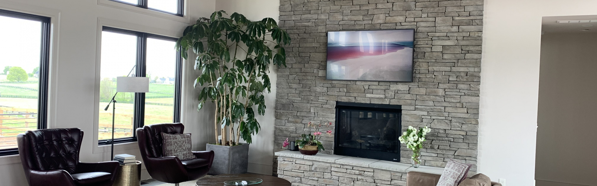 Smart home installation by Barney Miller's for Lexington