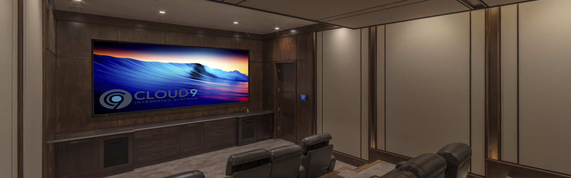 Smart home installation by Cloud 9 Integrated Systems for Vail