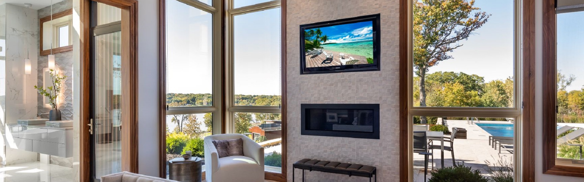 Smart home installation by Reference Audio Video & Security for Iowa City